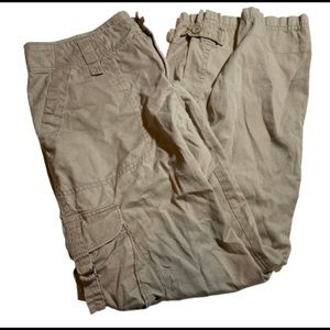 North Face Tan Utility Pants Multipockets